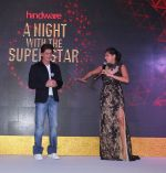 Kubra Sait with Shah Rukh Khan hosting Hindware book and app launch