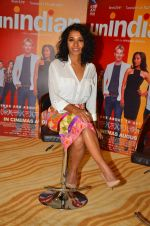 Tannishtha Chatterjee promote their upcoming film Unindian on 26th July 2016