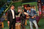 Brett Lee and Tannishtha Chatterjee promote Unindian on the sets of The Kapil Sharma Show on 27th July 2016