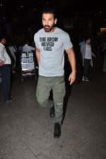 John Abraham snapped at airport on 27th July 2016
