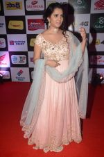 Maanasa at Mirchi Music Awards 2016 on 27th July 2016