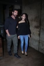 John Abraham with Priya Runchal at Dishoom screening in yashraj, Mumbai on 28th July 2016 (15)_579af7ca78db9.JPG