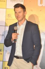 Brett Lee at Oberoi mall event on 29th July 2016