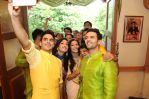 The cast of Ek Rishta Saajhedari Ka takes a selfie at the launh event in Mumbai_579c8638b0e1e.jpg