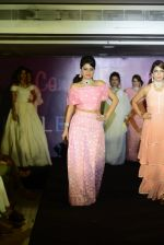 Model walks for designer Dimple Raghani on 30th July 2016