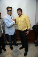 Ravi Kishan, Manoj Tiwari during the Press confrence of Luv Kush biggest Ram Leela at Constitutional Club, Rafi Marg in New Delhi on 31st July 2016(42)_579e02927e79d.jpg