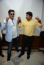 Ravi Kishan, Manoj Tiwari during the Press confrence of Luv Kush biggest Ram Leela at Constitutional Club, Rafi Marg in New Delhi on 31st July 2016(43)_579e022057ba4.jpg