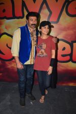 Sunny Deol and Preity Zinta at Superhit Bhaiya On location on 30th July 2016 (71)_579da6a3cce12.JPG
