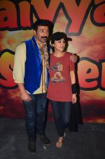 Sunny Deol and Preity Zinta at Superhit Bhaiya On location on 30th July 2016 (66)_579da69fe7fab.JPG