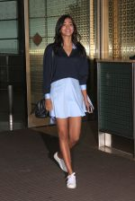 Pooja Hegde snapped as they leave for Hyderabad on 31st July 2016