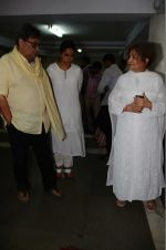 Subhash Ghai at Rajat Barjatya prayer meet on 31st July 2016  (33)_579ee9d626148.JPG