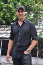 Akshay Kumar at Rustom promotions in Mumbai on 1st Aug 2016 (19)_57a0164e5b3ce.JPG