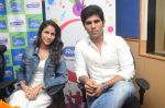 Allu Sirish and Lavanya Tripathi during the promotion of Telugu movie Srirastu Subhamastu at Radio City on 2nd August 2016  (1)_57a09c6b3f134.JPG