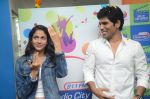 Allu Sirish and Lavanya Tripathi during the promotion of Telugu movie Srirastu Subhamastu at Radio City on 2nd August 2016  (14)_57a09c8325a89.JPG