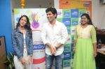 Allu Sirish and Lavanya Tripathi during the promotion of Telugu movie Srirastu Subhamastu at Radio City on 2nd August 2016  (17)_57a09c8a7c7ab.JPG