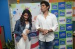 Allu Sirish and Lavanya Tripathi during the promotion of Telugu movie Srirastu Subhamastu at Radio City on 2nd August 2016  (2)_57a09c6d61ec2.JPG