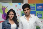 Allu Sirish and Lavanya Tripathi during the promotion of Telugu movie Srirastu Subhamastu at Radio City on 2nd August 2016  (22)_57a09c9675a83.JPG