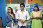 Allu Sirish and Lavanya Tripathi during the promotion of Telugu movie Srirastu Subhamastu at Radio City on 2nd August 2016  (10)_57a09c7d0e2b3.JPG