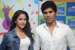 Allu Sirish and Lavanya Tripathi during the promotion of Telugu movie Srirastu Subhamastu at Radio City on 2nd August 2016  (26)_57a09c9e1aaba.JPG