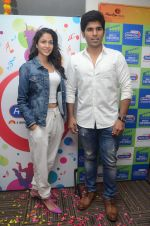 Allu Sirish and Lavanya Tripathi during the promotion of Telugu movie Srirastu Subhamastu at Radio City on 2nd August 2016  (30)_57a09cc234320.JPG