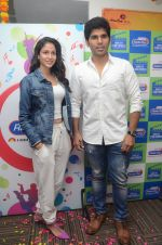 Allu Sirish and Lavanya Tripathi during the promotion of Telugu movie Srirastu Subhamastu at Radio City on 2nd August 2016  (31)_57a09cc626b3d.JPG