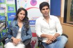 Allu Sirish and Lavanya Tripathi during the promotion of Telugu movie Srirastu Subhamastu at Radio City on 2nd August 2016  (43)_57a09ce11707d.JPG