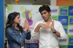 Allu Sirish and Lavanya Tripathi during the promotion of Telugu movie Srirastu Subhamastu at Radio City on 2nd August 2016  (5)_57a09c7431d49.JPG