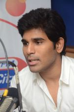 Allu Sirish during the promotion of Telugu movie Srirastu Subhamastu at Radio City on 2nd August 2016  (14)_57a09c0ab9823.JPG