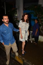 Dia Mirza and Sahil Sangha on a dinner date on 1st Aug 2016