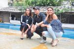 Ileana D_Cruz, Akshay Kumar, Esha Gupta at Rustom promotions in Mumbai on 1st Aug 2016 (16)_57a01683aa177.JPG