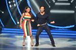 Jacqueline Fernandez and Tiger Shroff during the promotion of film A Flying Jatt on the sets of reality dance show Jhalak Dikhhla Jaa season 9 in Mumbai, India on August 2 2016 (11)_57a09e04e9d39.jpg