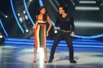 Jacqueline Fernandez and Tiger Shroff during the promotion of film A Flying Jatt on the sets of reality dance show Jhalak Dikhhla Jaa season 9 in Mumbai, India on August 2 2016 (16)_57a09e2213de2.jpg