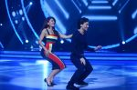 Jacqueline Fernandez and Tiger Shroff during the promotion of film A Flying Jatt on the sets of reality dance show Jhalak Dikhhla Jaa season 9 in Mumbai, India on August 2 2016 (18)_57a09e23eb9cd.jpg