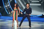 Jacqueline Fernandez and Tiger Shroff during the promotion of film A Flying Jatt on the sets of reality dance show Jhalak Dikhhla Jaa season 9 in Mumbai, India on August 2 2016 (9)_57a09e1f9d8a2.jpg