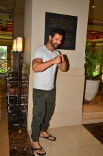 John Abraham promote Dishoom on 1st Aug 2016 (22)_57a015edaab7d.JPG