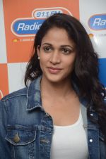 Lavanya Tripathi during the promotion of Telugu movie Srirastu Subhamastu at Radio City on 2nd August 2016  (40)_57a09d402132b.JPG