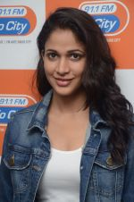 Lavanya Tripathi during the promotion of Telugu movie Srirastu Subhamastu at Radio City on 2nd August 2016  (27)_57a09d28f388a.JPG