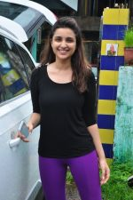 Parineeti Chopra snapped post rehearsals on 1st Aug 2016