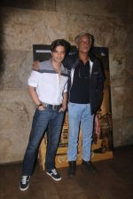 Rahul Bhat, Sudhir Mishra at Chauthi Koot film screening on 1st Aug 2016