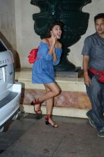 Jacqueline Fernandez during the audio launch of Beat Pe Booty song from film A Flying Jatt at the Radio City Studios in Mumbai, India on August 3, 3016