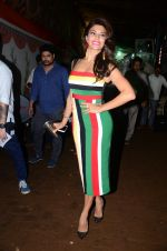 Jacqueline Fernandez during the promotion of film A Flying Jatt on the sets of reality dance show Jhalak Dikhhla Jaa season 9 in Mumbai, India on August 2 2016 (38)_57a18a9a58987.JPG