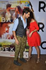 Sidharth Malhotra and Katrina Kaif promote film Baar Baar Dekho on August 2nd 2016 (52)_57a170422f498.JPG