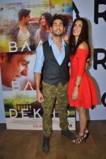 Sidharth Malhotra and Katrina Kaif promote film Baar Baar Dekho on August 2nd 2016 (57)_57a170452e351.JPG