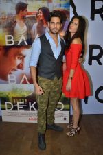 Sidharth Malhotra and Katrina Kaif promote film Baar Baar Dekho on August 2nd 2016 (59)_57a1704654eea.JPG