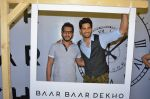 Sidharth Malhotra and Ritesh Sidhwani promote film Baar Baar Dekho on August 2nd 2016 (34)_57a1704acd287.JPG