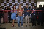 Tiger Shroff and Jacqueline Fernandez during the audio launch of Beat Pe Booty song from film A Flying Jatt at New PVR in Dombivli, Mumbai on August 3, 3016