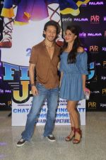 Tiger Shroff and Jacqueline Fernandez during the audio launch of Beat Pe Booty song from film A Flying Jatt at New PVR in Dombivli, Mumbai on August 3, 3016 (6)_57a1ee260e821.jpg