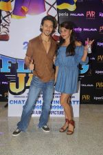 Tiger Shroff and Jacqueline Fernandez during the audio launch of Beat Pe Booty song from film A Flying Jatt at New PVR in Dombivli, Mumbai on August 3, 3016 (8)_57a1ee3caf49a.jpg