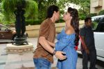 Tiger Shroff and Jacqueline Fernandez during the audio launch of Beat Pe Booty song from film A Flying Jatt at the Radio City Studios in Mumbai, India on August 3, 3016 (3)_57a1d52b9ebba.jpg