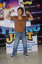 Tiger Shroff during the audio launch of Beat Pe Booty song from film A Flying Jatt at New PVR in Dombivli, Mumbai on August 3, 3016